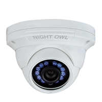 Night Owl 1080p Analog Dome Camera with Audio White