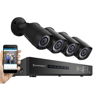 Amcrest 1080p Entry-Level Security Video System with 8 Weatherproof Cameras