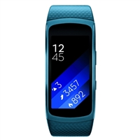Samsung Gear Fit2 Large Smart Watch - Blue