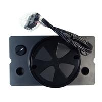Monsoon Series Two D5 Premium Dual Bay Reservoir - Matte Black