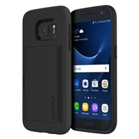 Incipio Technologies Stowaway Case for Samsung Galaxy S7 - Black