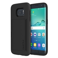 Incipio Technologies Stowaway Case for Samsung Galaxy S7 Edge - Black