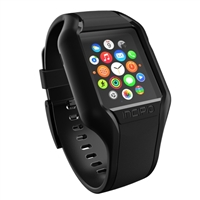Incipio Technologies NGP Strap for Apple Watch 38mm - Black