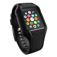 Incipio Technologies NGP Strap for Apple Watch 42mm - Black