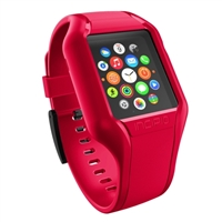 Incipio Technologies NGP Strap for Apple Watch 38mm - Red