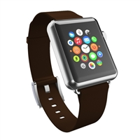 Incipio Technologies Premium Leather Watch Band for Apple Watch 38mm - Espresso