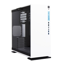 Inwin 303 ATX Mid-Tower Computer Case w/ Glass Side Window - White