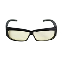 HornetTek Anti Blue Light Computer Glasses with Pouch and Cloth Yellow Lens