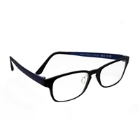 HornetTek Anti Blue Light Computer Glasses with Pouch and Cloth Blue Frame