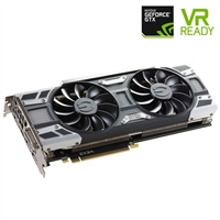 EVGA SC GeForce GTX 1080 Overclocked Dual-Fan 8GB GDDR5X Gaming PCIe Video Card