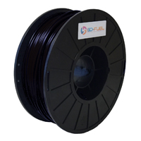 3DOM 2.85mm Fossil Fuel Black APLA 3D Printer Filament - 1kg Spool (2.2 lbs)