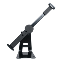 """CTA Digital Adjustable Anti-Theft Security Grip and Stand for 10-13"""" Tablets"""
