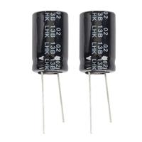 NTE Electronics Aluminum Electrolytic 3300uf 25V Capacitor - 2 Pack