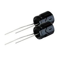 NTE Electronics Aluminum Electrolytic 680uf 25V Capacitor - 2 Pack