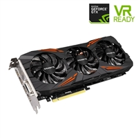 Gigabyte GeForce GTX 1080 G1 Gaming 8GB GDDR5X PCIe Video Card w/ WindForce 3X & RGB Lightning