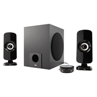 Cyber Acoustics 2.1ch Speaker System w/ Subwoofer