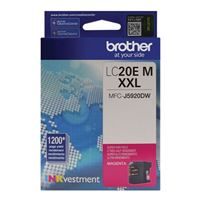 Brother LC20EM XXL Super High Yield Magenta Ink Cartridge