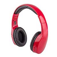 Targus Bluetooth Headphones w/ Mic - Red