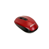 Inland 2.4 GHz Wireless Optical Mouse - Red