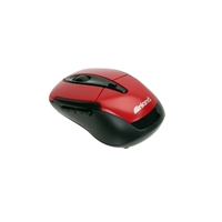 Inland 6-Button Wireless Mouse - Red