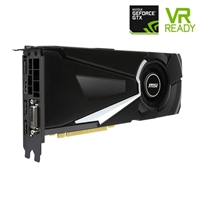 MSI GeForce GTX 1080 AERO 8GB GDDR5 Overclocked PCIe Video Card