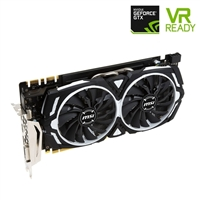 MSI GeForce GTX 1070 ARMOR 8GB Overclocked PCIe Video Card