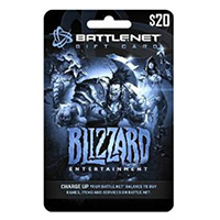 InComm Blizzard Battle.net $20