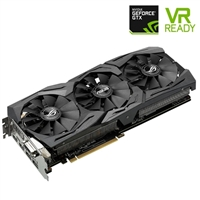 ASUS GeForce GTX 1080 Overclocked GAMING 8GB GDDR5X PCIe Video Card