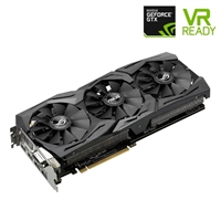 ASUS GeForce GTX 1080 STRIX 8GB GDDR5X PCIe Video Card