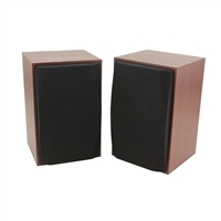 Inland Wooden Stereo Speakers