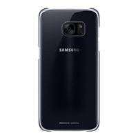 Samsung Protective Cover for Galaxy S7 - Clear Black
