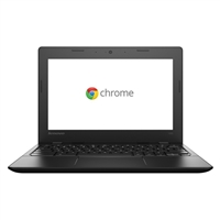 "Lenovo IdeaPad 100s 11.6"" Chromebook - Black"