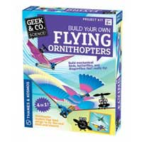 Thames And Kosmos Build your Own Flying Ornithopters Kit