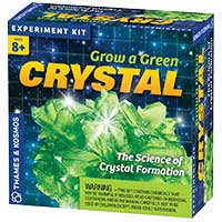 Thames And Kosmos Grow A Green Crystal Kit