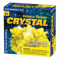 Thames And Kosmos Grow A Yellow Crystal Kit