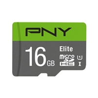 PNY 16GB microSD Class 10 / UHS-1 Memory Card