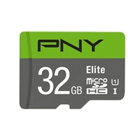 PNY 32GB microSD Class 10 / UHS-1 Memory Card
