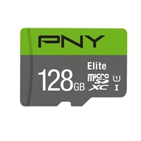 PNY 128GB microSD Class 10 / UHS-1 Memory Card