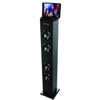 Sharper Image SBT-1012 Tower Speaker w/ Docking Station