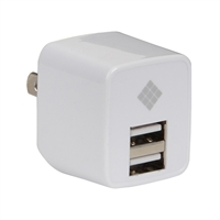 Polaroid 2-port USB Car Charger White