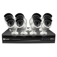 Swann Communications 8 Channel NVR with 8 HD Indoor/Outdoor Cameras