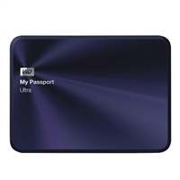 WD 4TB My Passport Ultra Metal - Blue
