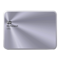 WD 4TB My Passport Ultra Metal - Silver
