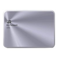 WD 4TB My Passport Ultra Metal - Silver