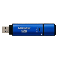 Kingston Data Traveler 64GB USB 3.0 Drive - 256bit AES Encrypted w/ ESET Antivirus