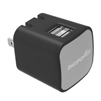 Digipower 2.4A Dual USB Wall Charger with Auto Sense