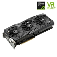 ASUSGeForce Strix GTX 1070 Overclocked 8GB GDDR5 PCIe Video...