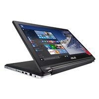 "ASUS Transformer Book Flip R554LA-RH31T(WX) 15.6"" 2-in-1 Laptop Computer - Black"