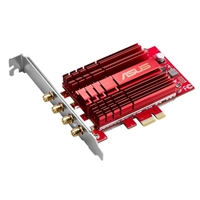 ASUS ASUS PCE-AC88 4x4 802.11ac Wireless-AC3100 PCIe adapter