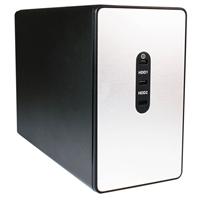 "HornetTek Titan USB 3.1 Type A/Type C Dual 2.5"" Hard Drive/Solid State Drive Enclosure w/RAID"